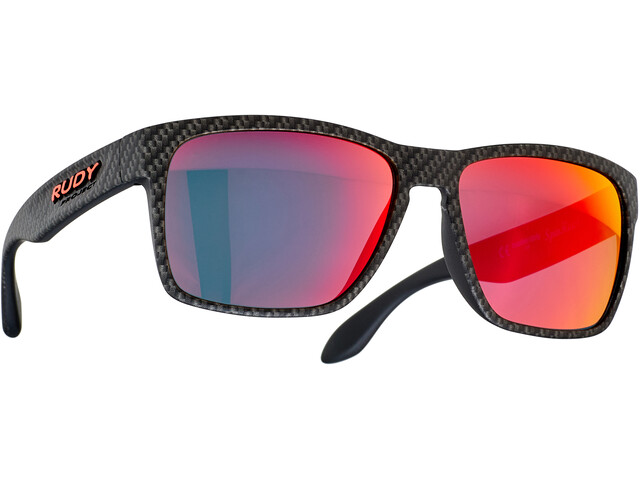Rudy Project Spinhawk Glasses carbonium - rp optics multilaser red